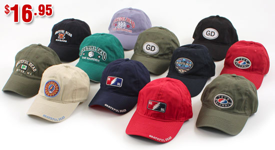 Grateful Dead Hats Back In Stock